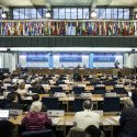 13 October 2015, Rome, Italy - V. Coordination and Linkages with CFS. a) Global: Food Security and nutrition in the Post 2015 Development Agenda: goals, action and outcomes. Committee on World Food Security (CFS), 42nd Session. FAO headquarters (Plenary).