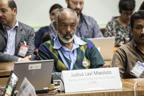 12 October 2017, Rome Italy - Committee on World Food Security CFS 44 Side Event - 55 - Global Hearing of the Landless. How to effectively secure and institutionalize the Land Rights of the Landless Poor? CSM Constituency of the Landless, formed by Landless Movements from all continents. Committee on World Food Security, 44th Session (CFS 44), 09-13 October 2017, FAO headquarters, (Philippines Room).
