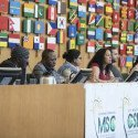 13 October 2018, Rome, Italy - Civil Society Mechanism Forum (CSM). FAO Headquarters (Green Room).  Photo credit must be given: ©FAO/Giulio Napolitano. Editorial use only. Copyright ©FAO.