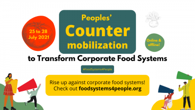 Hundreds of grassroots organizations to oppose the UN Food Systems Summit